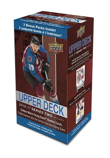 2016-17 Upper Deck Hockey Blaster Series 2
