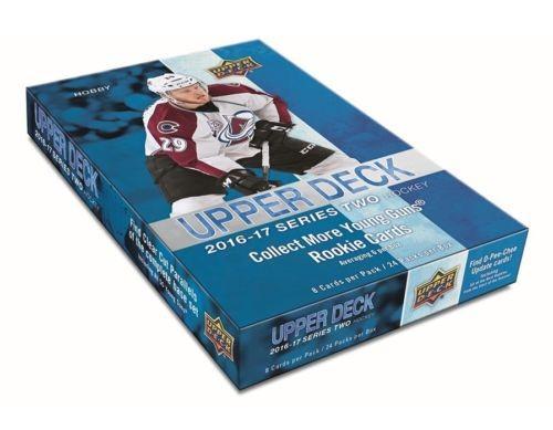 2016-17 Upper Deck Hockey Hobby Box Series 2