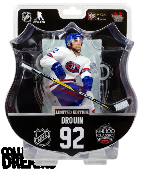 """2017 PSA NHL JONATHAN DROUIN LIMITED EDITION CLASSIC 6"""" Hockey Figure Only 950 Produced RARE IN STOCK"""