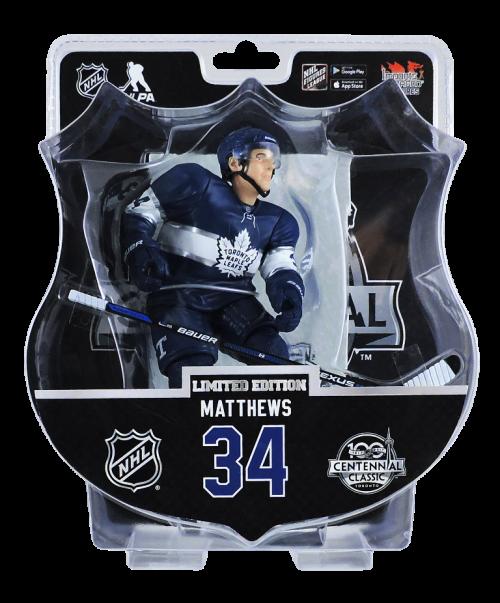 "2017-18 PSA NHL AUSTON MATTHEWS CENTENNIAL CLASSIC 6"" Hockey Figure Only 1850 Produced RARE"