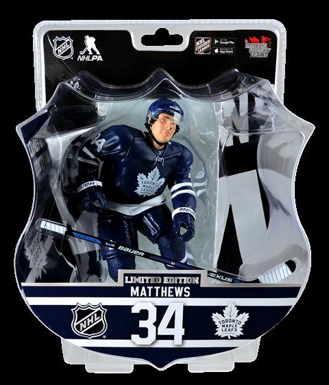 """2017 AUSTON MATTHEWS 6"""" Action Figure - Toronto Maple Leafs IN STOCK ROOKIE"""