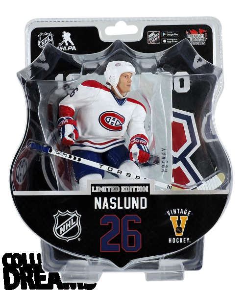 "2017-18 PSA NHL MATS NASLUND VINTAGE 6"" Hockey Figure Only 950 Produced RARE"