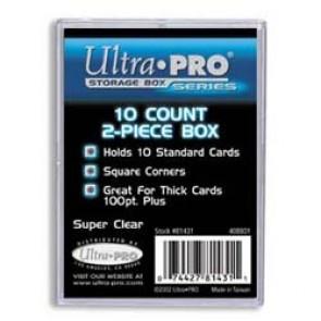Ultra Pro 10 Count 2 Piece Box (10 Lot)