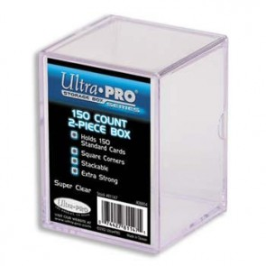 Ultra Pro 150 Count 2 Piece Box (10 Lot)