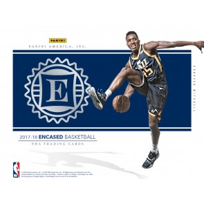 2017-18 Panini Encased Basketball Hobby Box PRE-ORDER