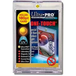 """Ultra Pro 3""""x5"""" Magnetic 1 Touch Rookie 180 pt (5 Lot)"""