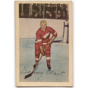 1952-53 Parkhurst  Benny Woit Single