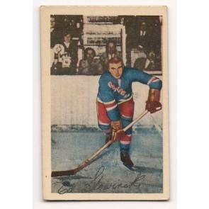 1952-53 Parkhurst  Edward Slowinski Single