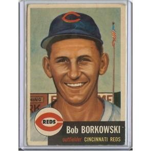 1953 Topps Bob Borkowski Single