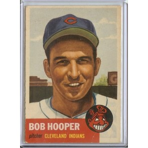 1953 Topps Bob Hooper  Single