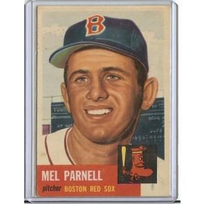 1953 Topps Mel Parnell Single