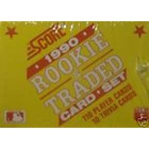 1990-91 Score Rookie & Traded Baseball Set
