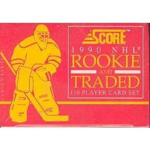 1990-91 Score Rookie & Traded Set