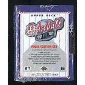1991 Final Edition Set Upper Deck Baseball Factory Sealed