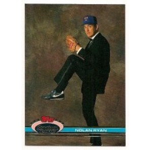 1991 Topps Stadium Club Nolan Ryan Single