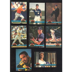 1991 Topps Stadium Club  Series 1 & 2 Set