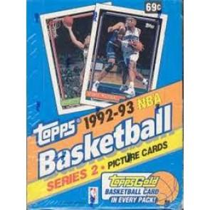 1992-93 Topps Hobby Box