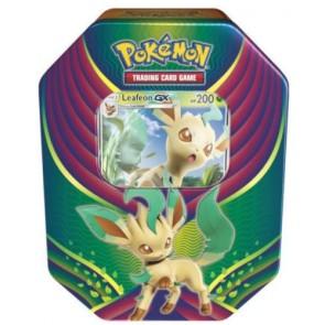 Pokemon TCG: Evolution Celebration Tin - Leafeon GX Factory Sealed