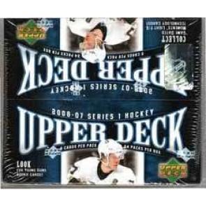 2006-07 UPPER DECK SERIES 1 HOCKEY RETAIL BOX