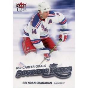 2008-09 Fleer Ultra Brendan Shanahan Scoring Kings