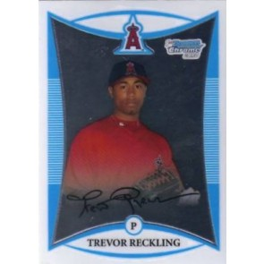 2008 Bowman Chrome Prospects Trevor Reckling Base Single