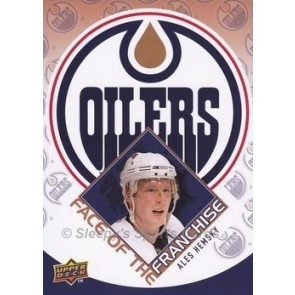 2009-10 Upper Deck Ales Hemsky Face of the Franchise