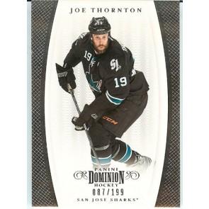2011-12 Panini Dominion Joe Thornton Base Single 087/199