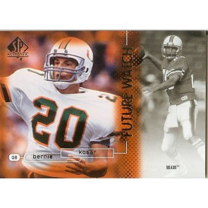 2011 SP Authentic Bernie Kosar Future Watch
