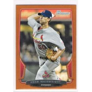 2013 Bowman Adam Wainwright Orange Parallel 080/250