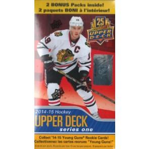 2014-15 Upper Deck Series 1 Hockey Blaster Box