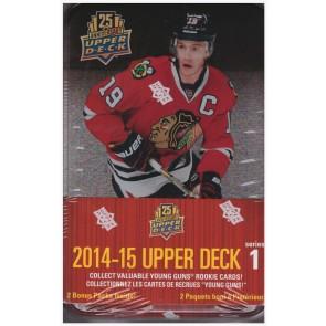 2014-15 Upper Deck Series 1 Hockey Tin Box