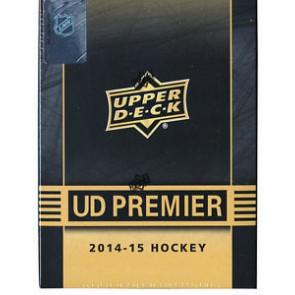 2014-15 Upper Deck Premier Hockey Hobby Box (Tin)