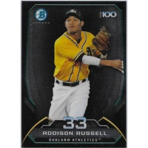2014 Bowman Chrome Addison Rusell Top 100 Prospects