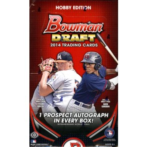 2014 Bowman Draft Picks & Prospects Baseball Factory Sealed Hobby Box