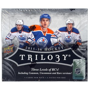 2015-16 Upper Deck Trilogy Hockey
