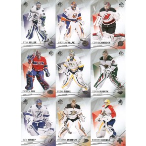 2015-16 SP Authentic Hockey Complete Goalie Team Set 23 Cards Price Roy