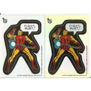 2013 TOPPS 75TH ANNIVERSARY #64 COMIC BOOK HEROES STICKERS FOIL & BASE SINGLE