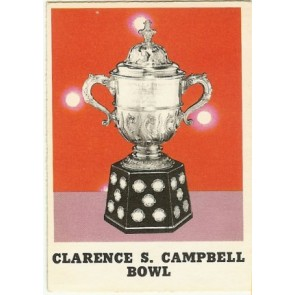 1970-71 O-Pee-Chee Clarence Campbell Bowl Base Single NM-MT