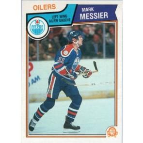1983-84 O-Pee-Chee Mark Messier Base Card