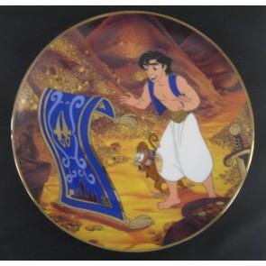 "1994 Aladdin ""Travelling Companions"" Bradford Exchange Collectible Plate"