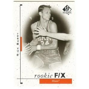 2011-12 SP Authentic Rick Barry Rookie F/X SP