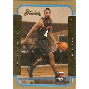 2003-04 Bowman Jerome Beasley Rookie Gold