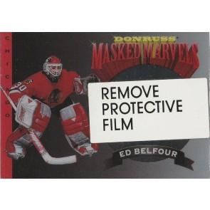 1994-95 Donruss Masked Marvels #1 Ed Belfour Chicago Blackhawks