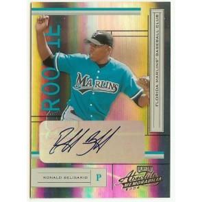 2005 Playoff Absolute Memorabilia Ronald Belisario Autograph Rookie 229/500