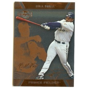 2007 Topps Co-Signers Prince Fielder Bill Hall Base Single 35/175