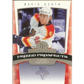 2006-07 Fleer Hot Prospects David Booth Prized Prospects Rookie 0384/1999