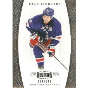 2011-12 Panini Dominion Brad Richards Base Single 094/199