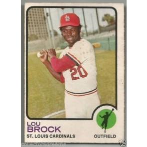 1973 OPC LOU BROCK #320 ST. LOUIS CARDINALS RARE