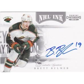 2011-12 Panini Contenders NHL INK Brett Bulmer