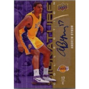 2009-10 Upper Deck Andrew Bynum Signature Collection